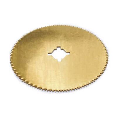 Round Titanium Nitride Round Cast Cutter Blade