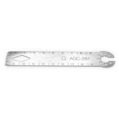 Sagittal Saw blade for Aesculap systems by Omega Surgical Instruments