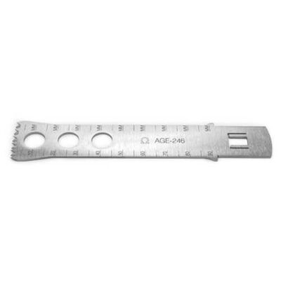 Omega AGE-246 Sagittal Saw Blade replaces Aesculap GE246SU